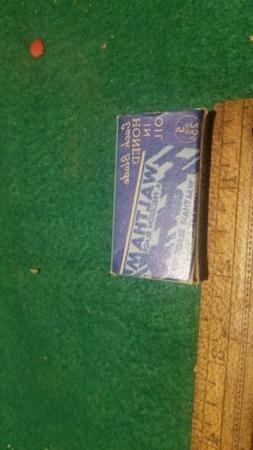 1 package of 5 Vintage Razor Blades - Burma Shave & Waltham