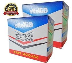 100+10 Gillette Double Edge Blades Classic Style Safety Razo