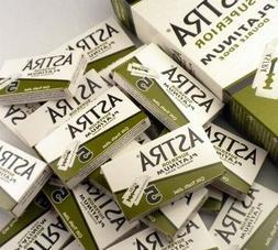 300 pcs X Astra Superior Platinum Double Edge Safety Razor B