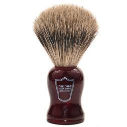 Parker Safety Razor 100% Pure Badger Shaving Brush Redwood H