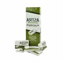 100 X Astra Superior Platinum Double Edge Safety Razor Blade