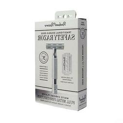 Rockwell Razors 2C Double Edge Safety Razor! White Chrome in