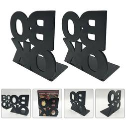 2PCS Creative Portable Practical Book Stand Book End for Sto