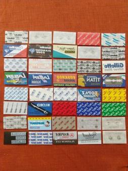 40 DE Double Edge Safety Razor Blades Lot DE Bulk Variety Pa