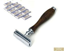 50 free blades safety razor german stainless