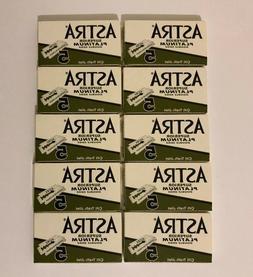 50 X Astra Superior Platinum Double Edge Safety Razor Blades