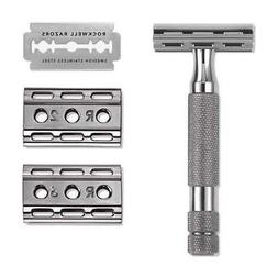 Rockwell Razors 6C Double Edge Razor - Gunmetal- New In Box,