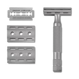 Rockwell Razors 6S Safety Razor - STAINLESS STEEL- New In Bo