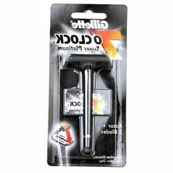 Gillette 7 O'Clock Super Platinum Safety Razor w/ 2 Blades