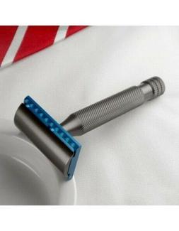 Above The Tie Aluminum Safety Razor, .58mm blade gap R1 head