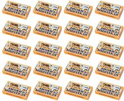 BIC Chrome Platinum Double Edge Safety Razor Blades, 10 Coun