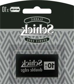 Schick Classic Double Edge Spare Blade 10pcs Razor Shaving M