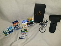 Double Edge Safety Razor, Stand, & Blade Sample Pack w 120 b