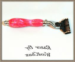 handmade passion pink d e safety mach