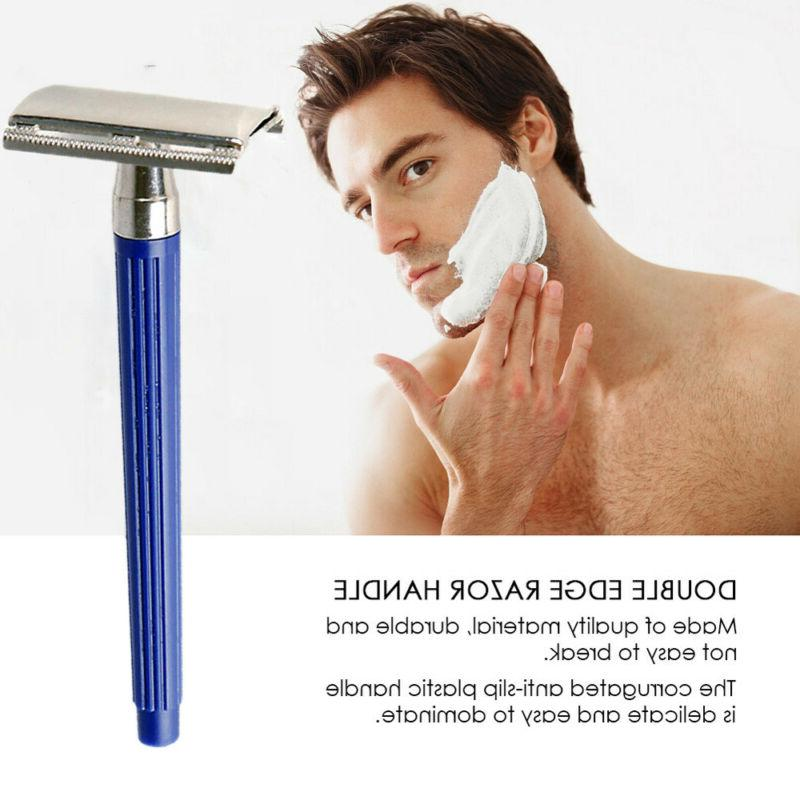1 Blade Razor Traditional Safety Shaver Double Side