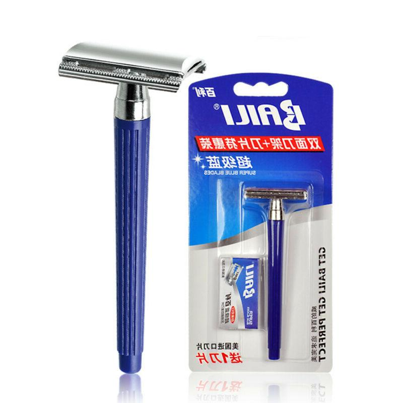 1 Traditional Safety Manual Shaver Double Side