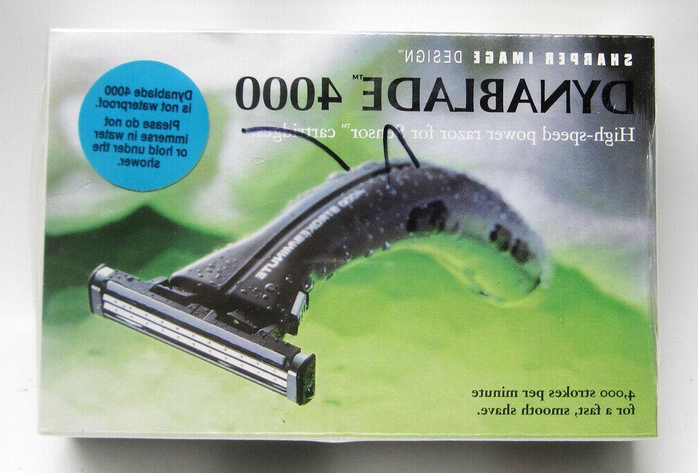1990s dynablade 4000 vibrating electric safety razor