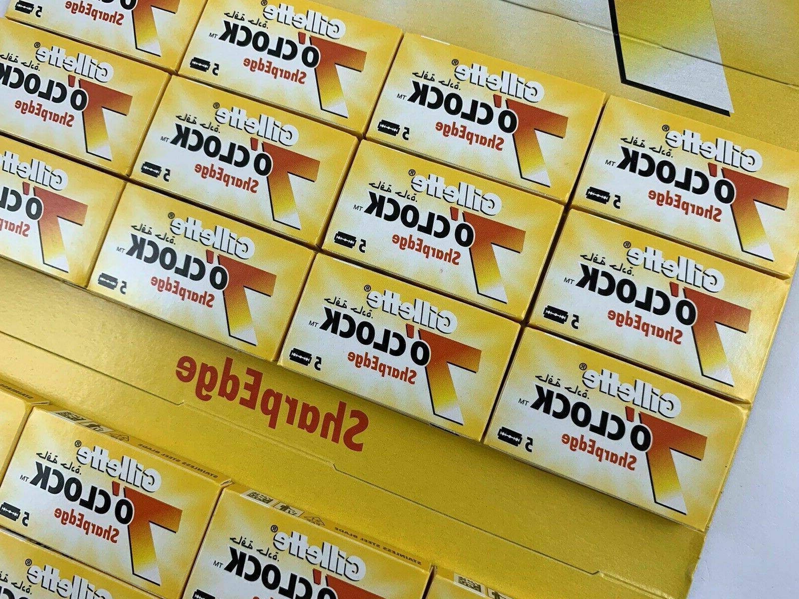 50 count Yellow Double Edge Razor