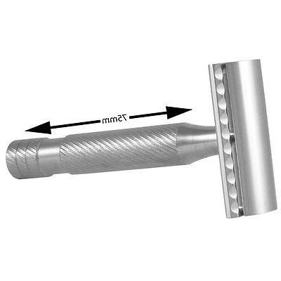 atlas h1 stainless steel aggressive safety razor