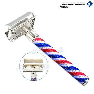 Double Edge Classic Safety Razors Handled Shaving Manual Tra