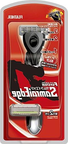 Feather F System Samrai Edge Razor NMB48