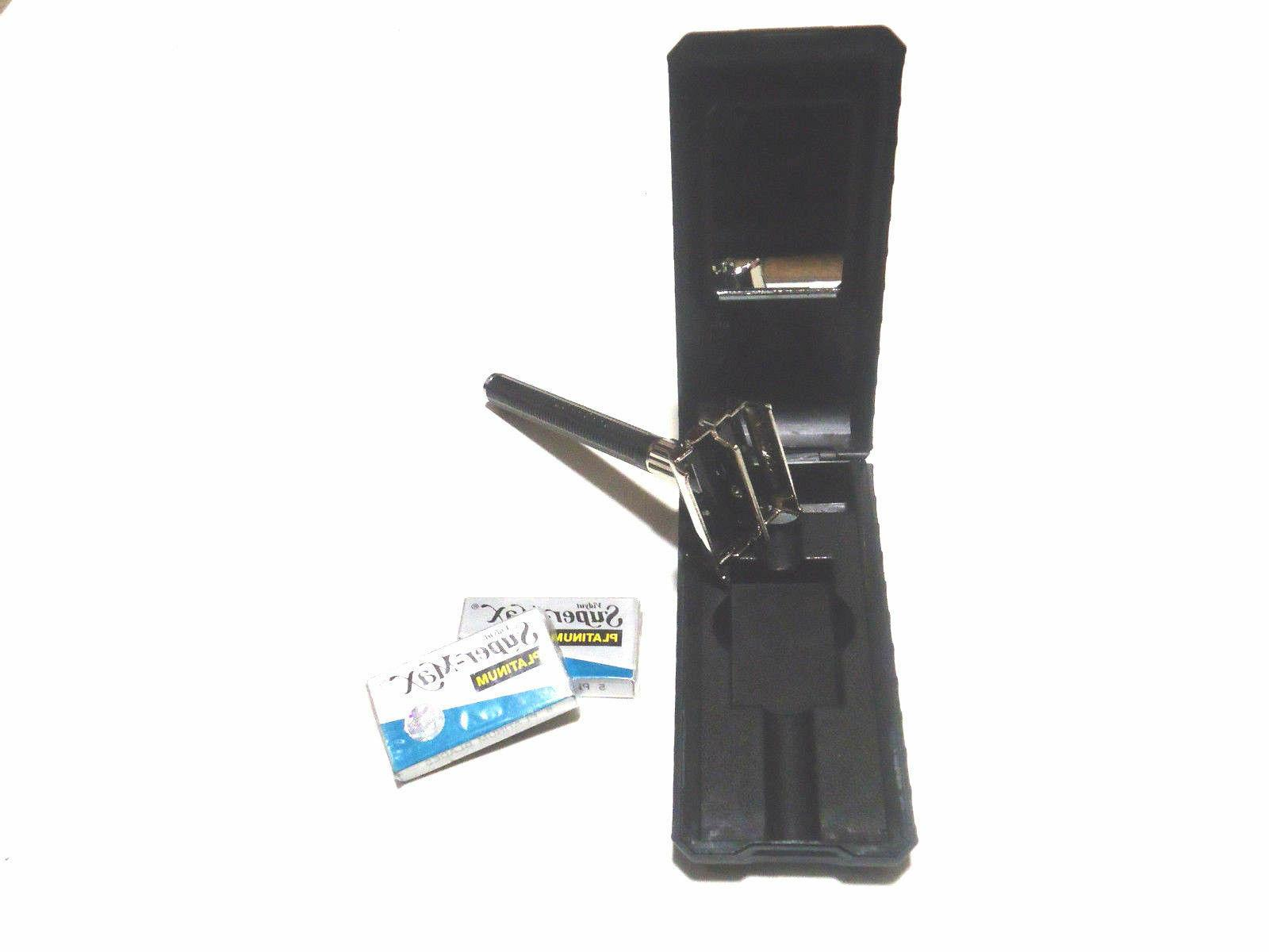 hashir old fashion butterfly style safety razor