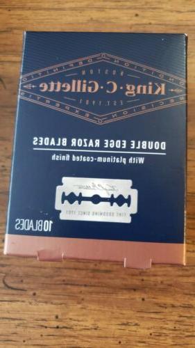 king c double edge razor blades 10