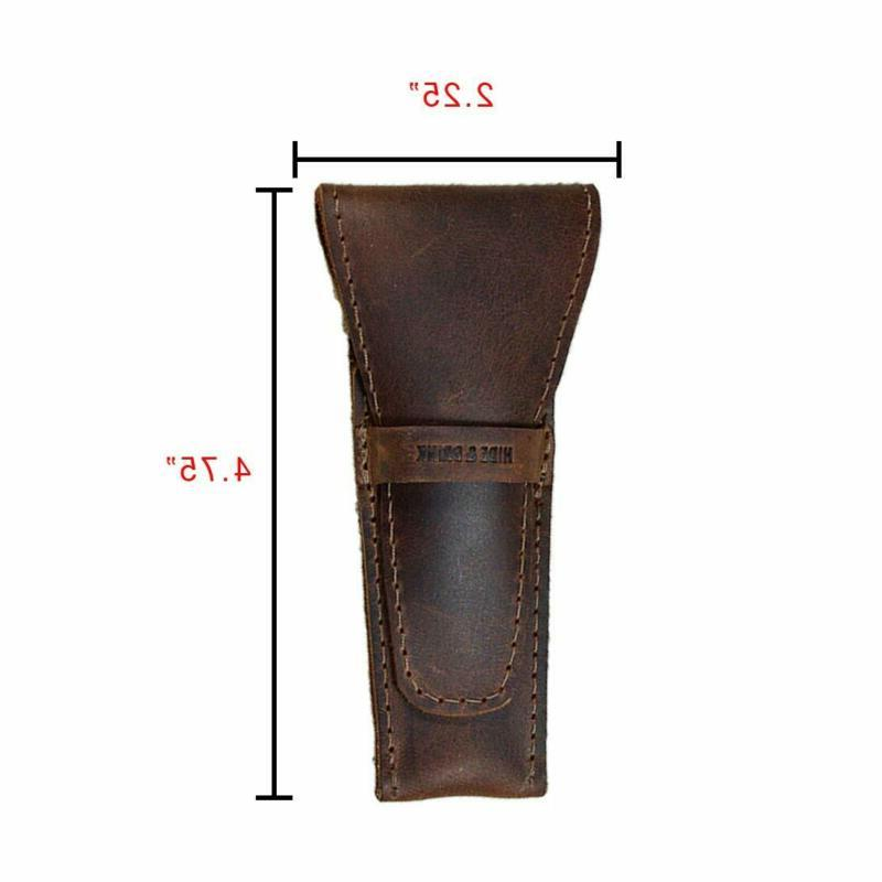 Leather Safety Shaving Accessories