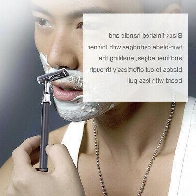 Men' s Shaving Kit Set Safety Bowl Stand