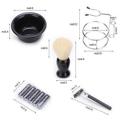 Men' Kit Set Brush Safety Bowl