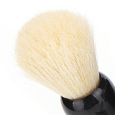 Men' Grooming Kit Beard Set Brush Safety Razor Bowl Stand