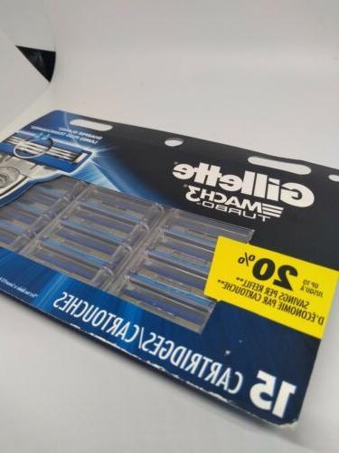 new mach 3 turbo replacement cartridges razor