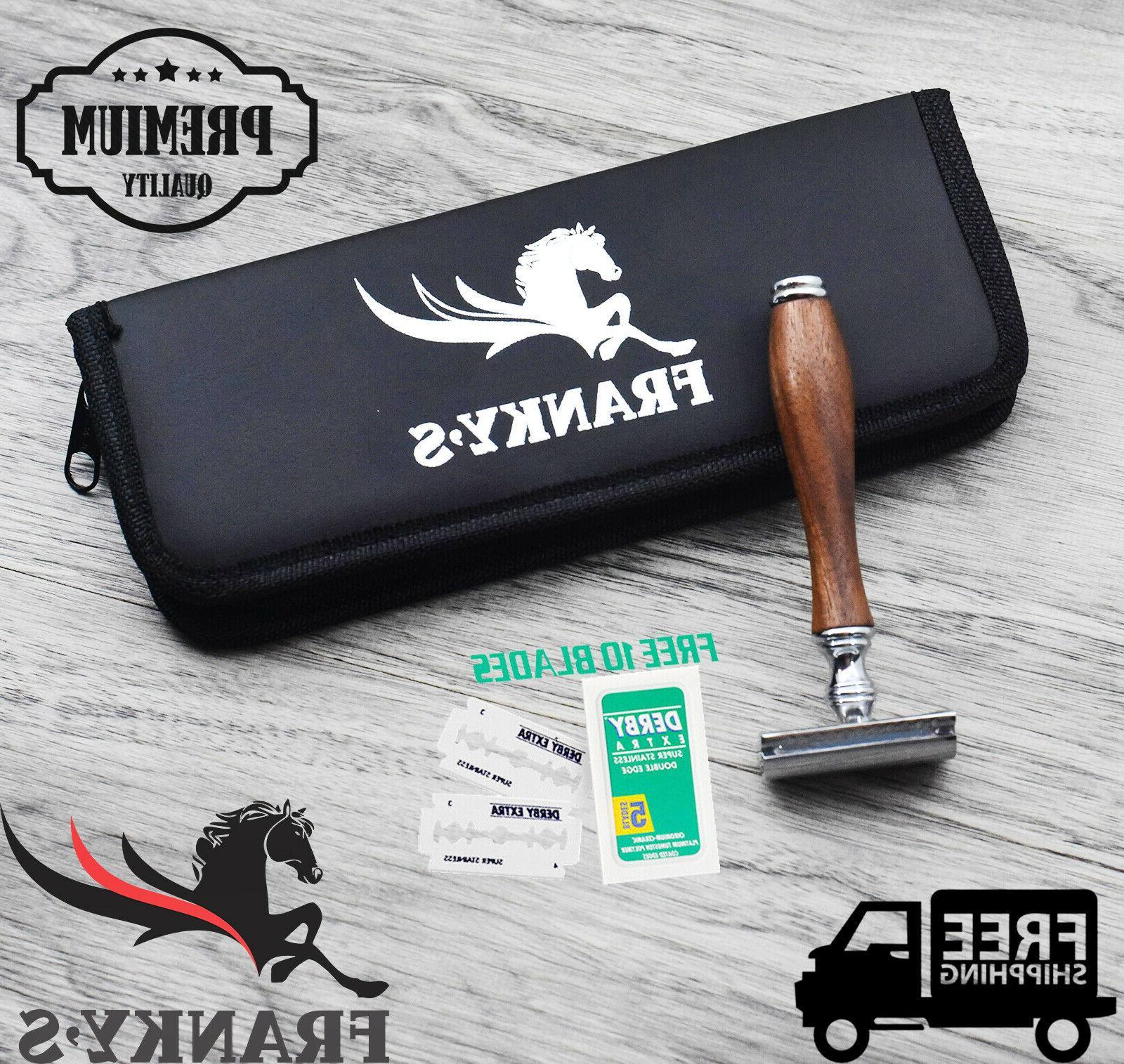 safety razor german stainless double edge razor