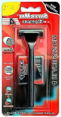 Super-max Super Platinum Double Edge Razor Blades