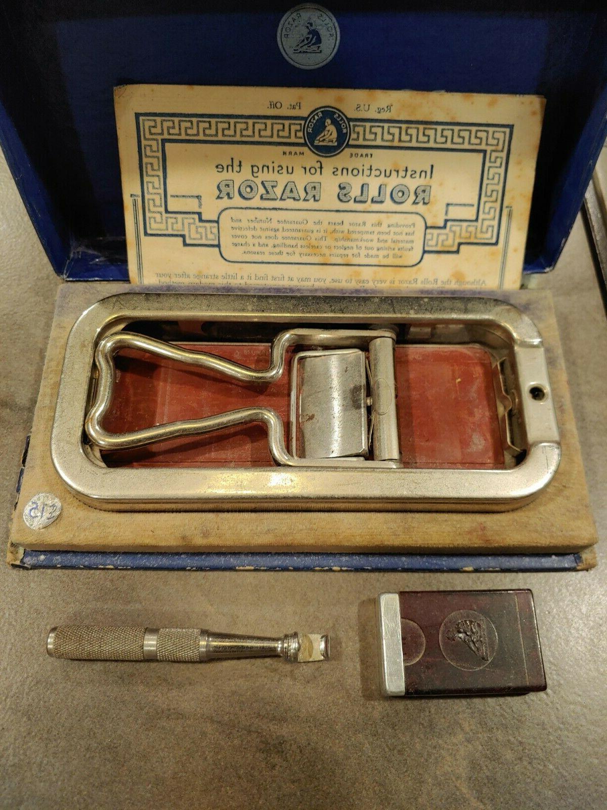 Vintage British Safety Razor Blade Instructions NEW
