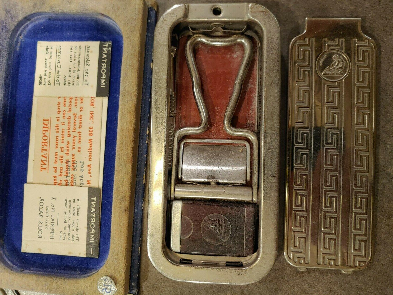 Vintage Razor Blade Instructions NEW