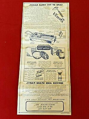 Vintage Rolls Razor No.2 Made in England