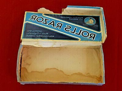 Vintage Rolls Razor No.2 Razor Kit Made England
