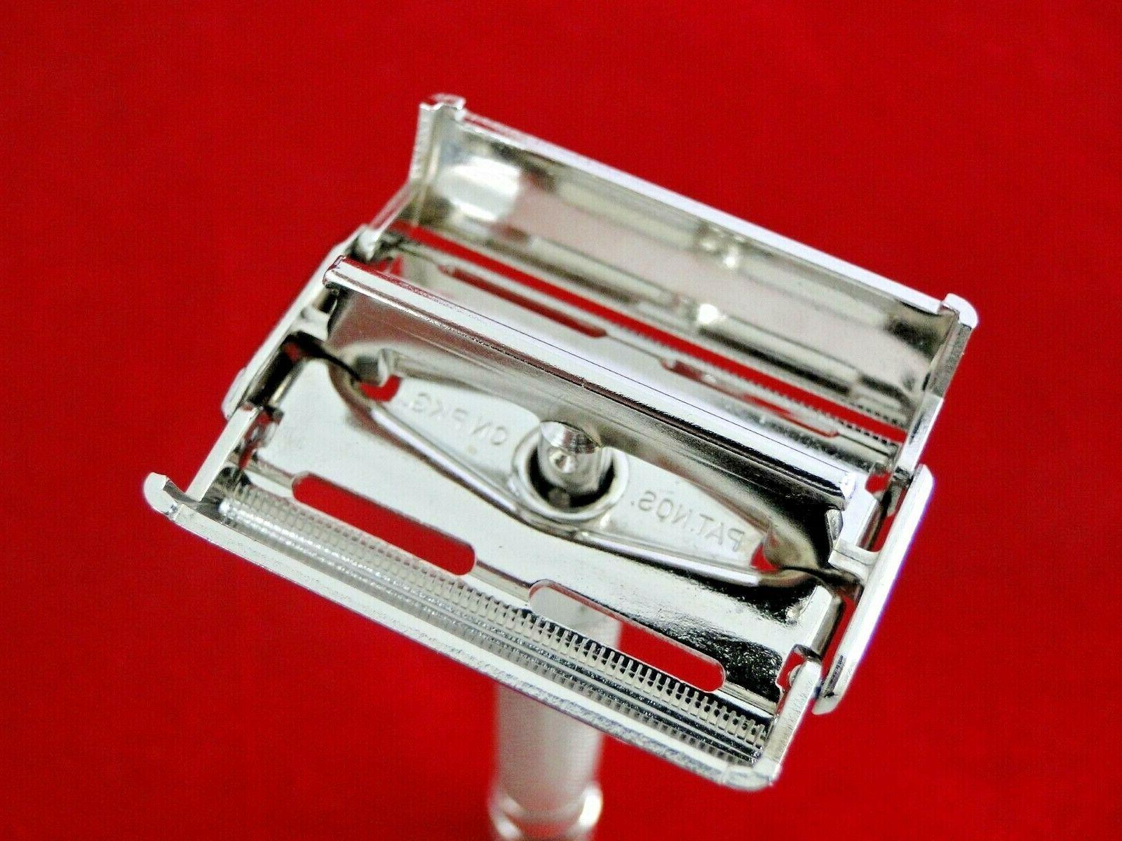 Vtg. MINTY 1948 Gillette Superspeed Kit, Blades