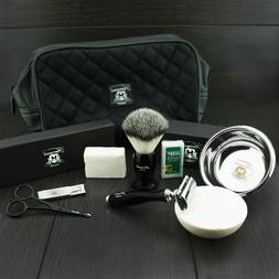 Luxury Complete Traditional Wet Shaving Kit with Safety Razo