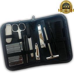 Men Women Personal Grooming Kit Safety Razor Nail Cutter Nai