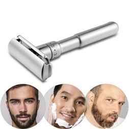 Mens Shaving Adjustable Safety Zinc Razor Double Edge Safety