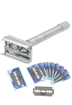 merkur style double edge safety razor straight