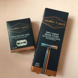 New King C Gillette Double Edge Safety Razor Grooming Barber