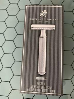NIB The Art of Shaving New York ~  Safety Razor ~ 5 refill b