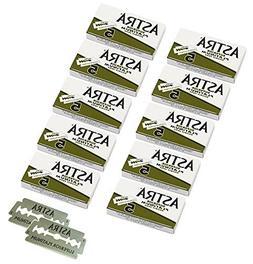 Astra Platinum Double Edge Safety Razor Blades, 50 Blades