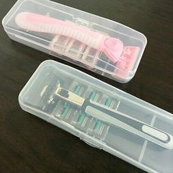 Portable Manual Razor Shaver Cover Travel Case Holder Box Me