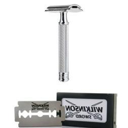 Muhle R89 Classic Closed Comb Safety Razor Chrome+Wilkinson