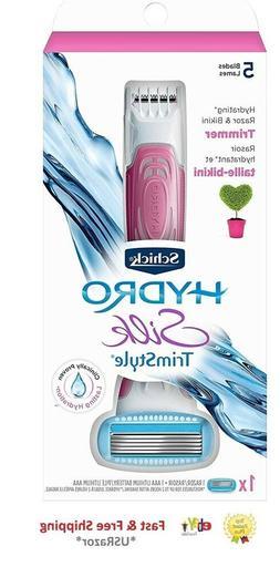 Schick Hydro Silk TrimStyle Razor, 1 ea