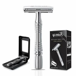 Safety Razor - Butterfly Double Edge Shaver for Men and Wome